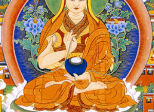 Lezing en lesweekend met Chungtsang Rinpoche over De Drie Hoofdzaken Van Het Pad.