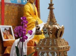 Stupa onthuld