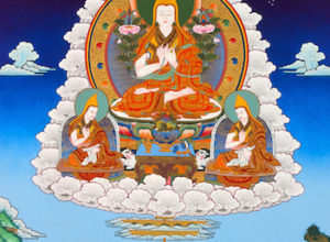 Viering Je Tsong Khapa dag met Tsoh