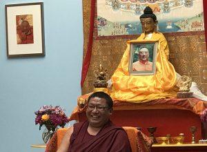 16 juni 2018 Lesdag over Kostbaar menselijk leven en Vergankelijkheid door Chungtsang Rinpoche