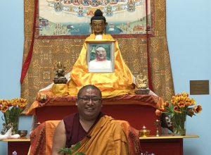 Vrijdag 1 juni : Lezing in Utrecht door Chungtsang Rinpoche over de vier onmetelijke gedachten: Geluk voorbij lijden