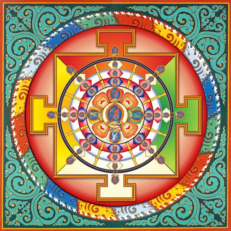 Afbeelding van VajrayanaMandala