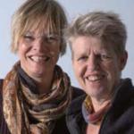 Foto van Karin Landsbergen en Marja de Lint