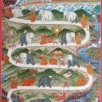 Afbeelding van het temmen van de olifant