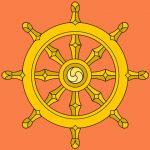 Dharma_Wheel oranje