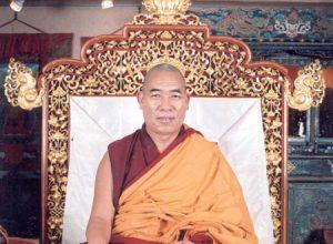 Lessen en Zegening van Z.E. Dagyab Tokden Rinpoche op 25 en 26 april 2019